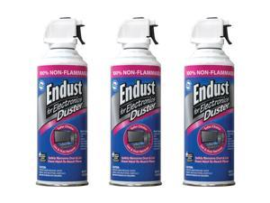 3 Pack 10 Oz Endust 255050 Electronics Duster