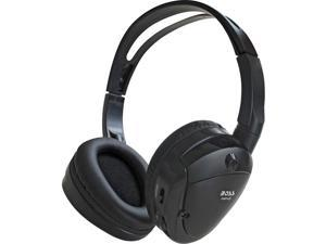 Boss HP12 Infrared Foldable Cordless Headphone - Stereo - Wireless - Infrared - 30 Hz 20 kHz - 60 dB SNR - Over-the-he