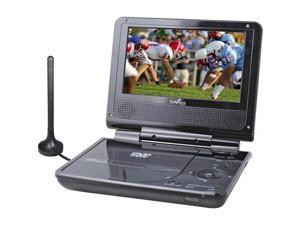 "Dual Box Pro 7"" Widescreen Portable TFT LCD DVD Player with Built-In ATSC Tuner"