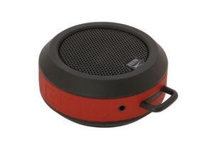 Altec Lansing Orbit Speaker System - Wireless Speaker(s) - Red - Bluetooth - iPod Supported