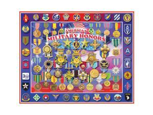 "Jigsaw Puzzle 1000 Pieces 24""X30""-Military Honors"