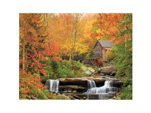"Jigsaw Puzzle 1000 Pieces 24""X30""-Old Grist Mill"