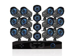 16 Channel 16 Cam Security 1TB