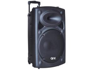 """QFX PBX61150BT 15""""Battery Powerd BT Speaker"""