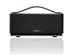 Veho USA Retro M6 Speaker System - 6 W RMS - Wireless Speaker(s) - Gunmetal
