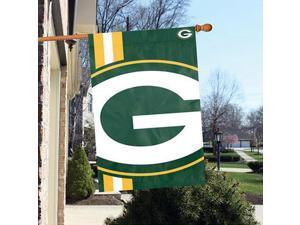 "Party Animal Green Bay Packers Bold Logo Banner - United States - 36"" x 24"" - Lightweight, Dye Sublimated - Polyester"