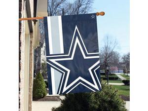 """Party Animal Dallas Cowboys Bold Logo Banner - United States - Dallas - 36"""" x 24"""" - Lightweight, Dye Sublimated - Polyester"""