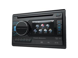 "POWER ACOUSTIK PD-342 3.4"" Double-DIN In-Dash LCD Touchscreen DVD Receiver (Without Bluetooth(R))"