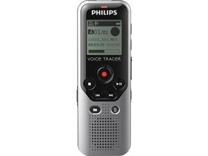 Philips DVT1200 DIGITAL VOICE TRACER RECORDER, black