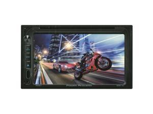 "Power Acoustik  2-DIN Multimedia Source Unit w/ 6.5"" LCD"