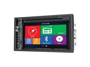 "Power Acoustik  2-DIN Source Unit w/ 6.2"" LCD & GPS Navigation"
