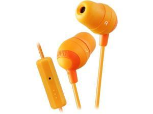 Marshmallow Earbuds with Microphone and Remote-Orange