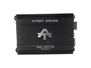 AUTOTEK SMA2100.4 Street Machine(R) 4-Channel Class AB Amp (2,100 Watts)