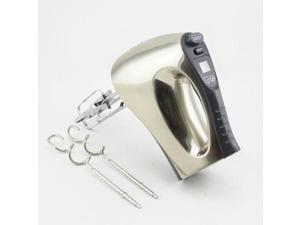 Nesco HM-350 Hand Mixer - 350 W - Polished Chrome