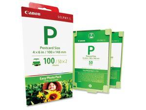 EP100 (E-P100) Easy Photo Pack Ink & Paper Set Tri-Color