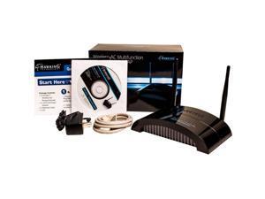 Hawking HW7ACX IEEE 802.11ac 750 Mbit/s Wireless Access Point - 2.40 GHz, 5 GHz - 2 x Antenna(s) - 2 x External Antenna(s) - 5 x Network (RJ-45) - AC Adapter - Desktop - 1 Pack