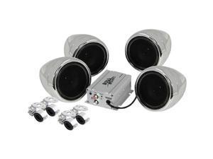 BOSS AUDIO-CAR AUDIO/VIDEO MC470B MOTORCYCLE/UTV 4 SPKR /AMP SYST
