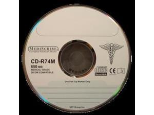 Disc CD-R 80 min MEDICAL Grade 700MB Silver Thermal Printable