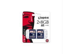 8Gb Sdhc Class 4 Flash Card Twin Pack (2Pcs)