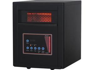 World Marketing QDE8600 Infrared Quartz Heater w RC
