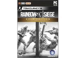 Ubisoft Tom Clancy's Rainbow Six Siege Gold Edition - First Person Shooter - PC