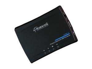 Hawking Wireless Multifunction USB Print Server - Wi-Fi - IEEE 802.11n - USB - External