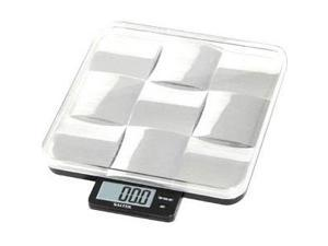 Salter 3864SSM Digital Food Scale - 11 lb - Stainless Steel, Plastic