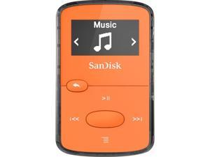"SANDISK SDMX26-008G-G46O 8GB .96"" Clip Jam(TM) MP3 Players (Orange)"