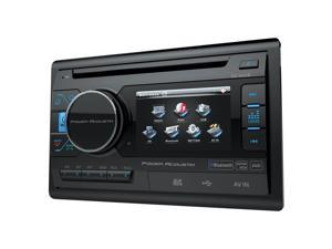 "POWER ACOUSTIK PD-342B 3.4"" Double-DIN In-Dash LCD Touchsceen DVD Receiver (With Bluetooth(R))"
