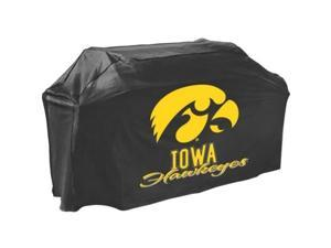 Mr. Bar.B.Q Iowa Hawkeyes Grill Cover - Supports Barbecue Grill - Mold Resistant, Mildew Resistant, Temperature Resistant, Rain Resistant, UV Resistant, Dirt Resistant, PVC-free, Water Resistant - Pol