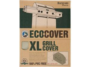 Backyard Basics Extra Large Grill Cover - Supports Grill - Water Proof, Weather Resistant, Rip Resistant, Temperature Resistant, Rain Resistant, Dust Proof, Sturdy, Tie-down Strap, Dirt Resistant, Dur