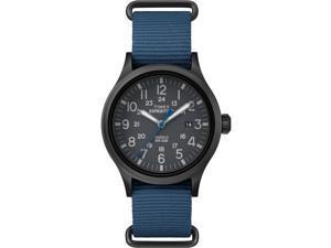 Timex Expedition Scout Blue Slip Thru Watch