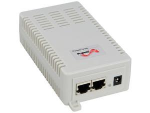 Microsemi 4-Pairs High Power splitter - for use with PD-9500G series (user selectable DC output 12v/24v) - 57 V DC Input - 12 V DC, 24 V DC Output - 54 W