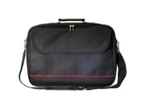 "Digital Treasures ToteIt! Carrying Case for 17.6"" Notebook - Black - Shoulder Strap, Handle - 12.8"" Height x 18"" Width x 3.3"" Depth"