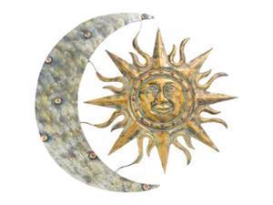 GARDMAN USA 8415 AZTEC SUN AND MOON WALL ART