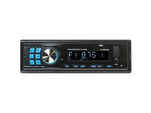 Bluetooth Stereo Radio In-Dash Console Headunit Receiver, USB/SD/MP3 Playback, Aux (3.5mm) Input, AM/FM Radio, Single DIN