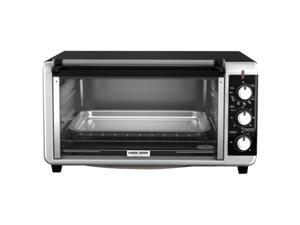 Black & Decker  TO3250XSB  Black  Extra-Wide 8-Slice Toaster Oven