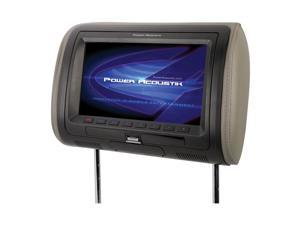 """POWER ACOUSTIK HDVD_71HD 7"""" Universal Headrest Monitor with MHL(R) MobileLink & Interchangeable Skins (With DVD Player)"""