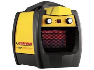 DuraHeat Heavy Duty Electric Utility Heater - Ceramic - Electric - Electric - 1.50 kW - 600 Sq. ft. Coverage Area - 1500 W - 120 V AC - 12.50 A - Basement, Workshop, Garage - Portable - Black, Yellow