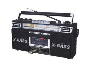 QFX  J22U  Retro Collection Boom Box