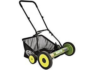 """Sun Joe Mow Joe 20-IN Manual Reel Mower with Grass Catcher - MJ502M - 20"""" Cutting Width - Reel"""