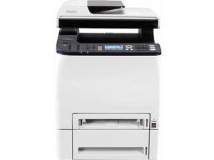 Ricoh SP C252SF Laser Multifunction Printer - Color - Plain Paper Print - Desktop - Copier/Fax/Printer/Scanner - 21 ppm Mono/21 ppm Color Print - 2400 x 600 dpi Print - 20 cpm Mono/12 cpm Color Copy L