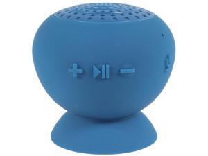 Digital Treasures Lyrix Jive Jumbo Speaker System - 10 W RMS - Portable - Battery Rechargeable - Wireless Speaker(s) - Blue - Bluetooth - USB - Water Resistant, Water Proof, Built-in Microphone, Hands