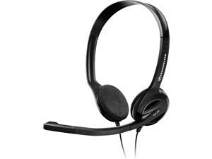 Sennheiser PC 36 Headset - Stereo - Black - USB - Wired - 32 Ohm - 40 Hz - 18 kHz - Over-the-head, Behind-the-neck - Binaural - Semi-open - 9.84 ft Cable - Noise Cancelling Microphone