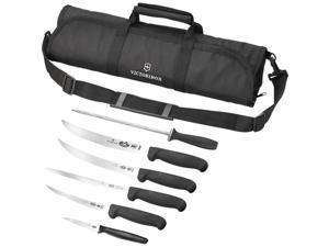 Victorinox Field Butcher Dressing Cutlery Kit - Stainless Steel, Fibrox - Black
