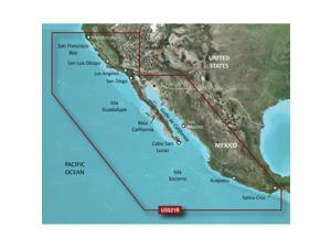 Garmin VUS021R - California-Mexico - SD Card