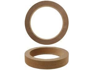 """Nippon 4"""" Speaker Rings made of 3/4"""" MDF (pair)"""