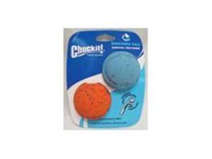 Rebounce Ball Medium 2.5 In 2Pk Dog Toy