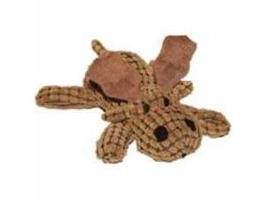 Waffle Wags Plush Moose Dog Toy 14 In