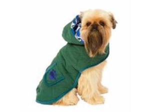 Ethical Pet Everyday Quilted Paw Blanket Coat Green Medium